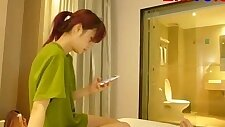 Chinese teen suck Fuck In Hotel!