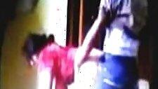 2014 New Punjabi Bhabhi Red Salwar With littel Dever jis In home sex