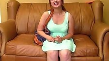 18 year old auditions for porn and masturbates