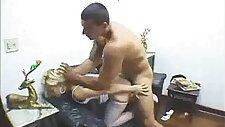 Dazed Bimbo Has Cock Forced Up Rear