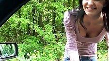 Innocent teen from russia car sex