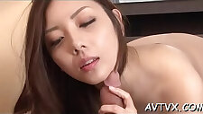 Stud is receving an titillating oral from nice oriental