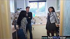 Hard black cock fill perfect in naughty pussy milf jasmine webb video 19