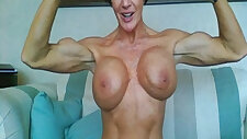 Biceps and big boobs made porn music video