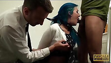 Alexxa vice double penetrated and punished hard theeway