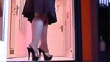 Sexy Gold Platform Heels
