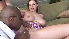 Busty Gianna Michaels Fucks A Big Black Dick