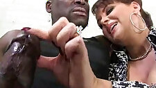 hot milf mom make a blowjob and ride a big black hard hard black cock interracial 21