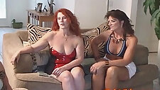 Mom and Teen step Daughter open a WHORE HOUSE