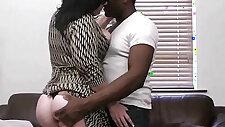 Smart black dude seduces BBW