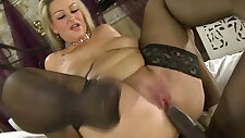 Busty MILF Dani Amour Fucks big Black monster Cock