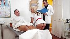 doctor in sex adventures cum for nurse sarah scene starring sarah vandella and keiran lee