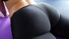 Big Round Ass Jada Stevens Takes Cock After Yoga