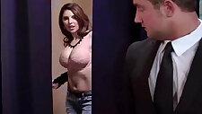 Big Tits Sexy Horny Wife sucks and Fucks her Hard Style vid 18