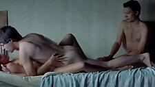 Adriana Ugarte in a MMF threesome