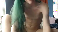 Lovely Teen masturbating With Tits Strip And Play